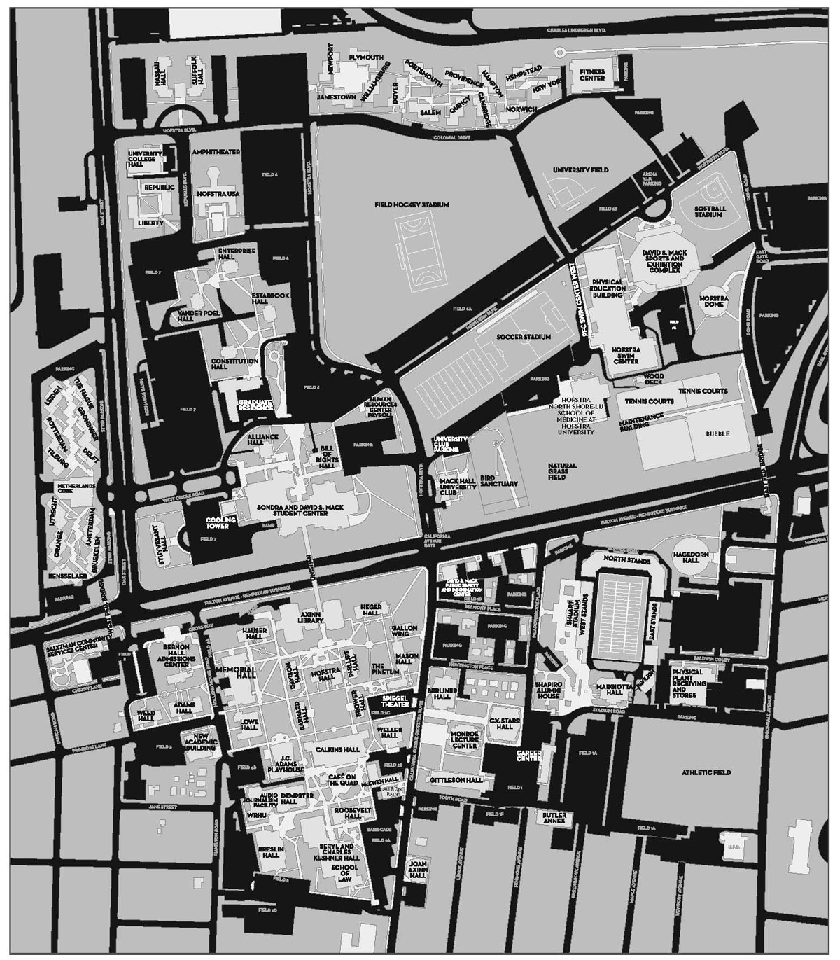 Hofstra Campus Map World Map 07