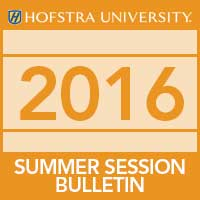 2016 Summer Sessions Bulletin